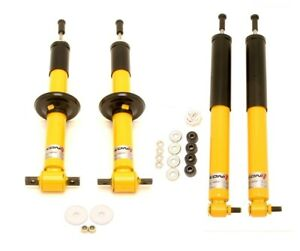 Koni Yellow Sport Shocks For Chevy Camaro Firebird Z28 93 02 Front Rear Set