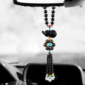 Gourd Car Rear View Mirror pendant Lucky Safety Hanging Ornament Decor