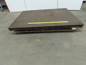 Durline Scales Flt6084 10 5 X 7 Floor Scale 10 000 Lbs Capacity Tested
