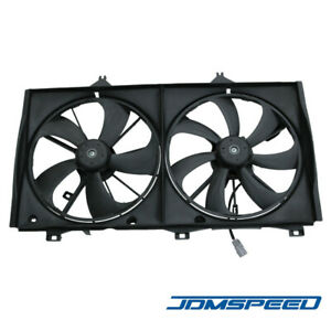 New Radiator Ac Condenser Cooling Fan Assembly For 2007 2009 Toyota Camry 2 4l