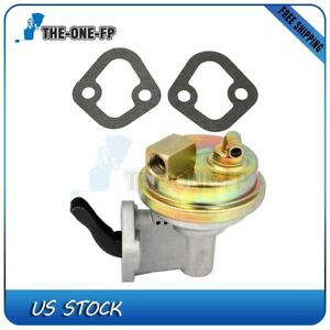 Chrome Mechanical Fuel Pump Fits Chevrolet 265 283 302 305 307 327 350 383 40gph
