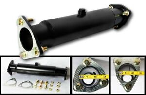 Fit 98 02 Honda Accord 3 0l 6cyl Black Stainless Racing Test Pipe