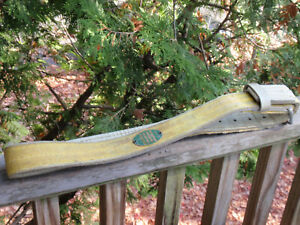 Vintage Inco Lineman s Pole Tree Climbing Belt Harness Safety With Ring