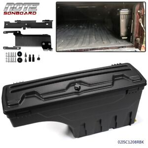 Pickup Truck Bed Storage Box Toolbox Rear Right Side For Ford F150 2015 2019