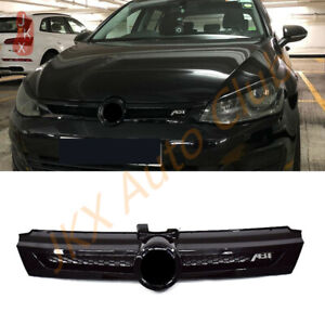 Glossy Black Bumper Grille Refit Honeycomb Grill For Vw Golf 7 Abt Mk7 2018 2020