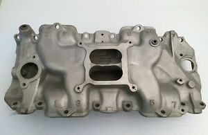 1971 Corvette Ls 6 Aluminum Intake Manifold Cast 3963569 All W 454 Original