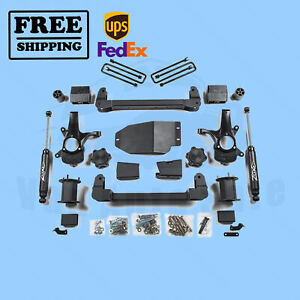 Zone 6 5 Lift Kit For Chevy gmc Silverado sierra 2007 2013 1500 4wd