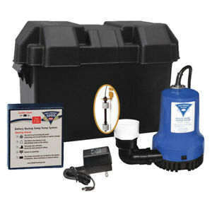 Phcc 1000 Pro Series Battery Back Up Sump Pump System 1000gph