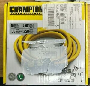 Champion Power Equipment 25 Ft Generator Cable ra