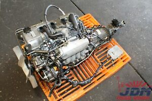 Toyota Tacoma 4runner T100 2 7l Coil Engine At Swap Free Shipping Jdm 3rzfe 1