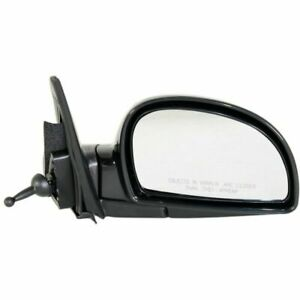 Manual Remote Mirror For 2002 2006 Hyundai Accent Right Manual Folding Paintbale