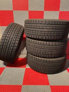 4x Used 225 55 R16 Dunlop Grasspic Ds 3 Snow Tires 8 32 Tread 225 55 16
