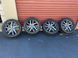 19 Lexus Gs200 Gs300 Gs350 Gs460 Wheel Rims Oem 74347 74349 Fsport Tires Set 4