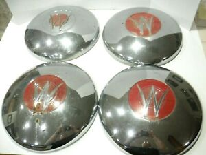 Lot Of 4 1948 To 1950 Willy s Jeepster hub Caps 57