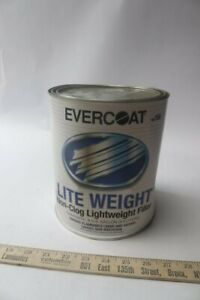 Pack Of 1 Evercoat 156 Fibreglass Lite Weight Body Filler 1 Gal