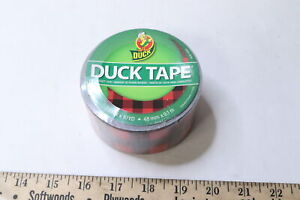 Duck Brand 285222 Buffalo Plaid Duct Tape 1 88 in X 10 Yard Roll