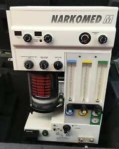 Drager Narkomed M Mobile Anesthesia Machine W Ventilator Excellent Condition