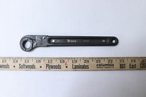 Titan 60122 Ratcheting Flare Nut Wrench 12 point 5 8
