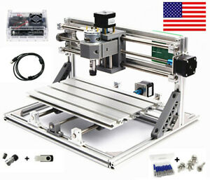 Us small Cnc3018 Cnc Router Engraver Carving Machine Cutter Milling Pcb Pvc Wood