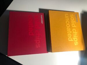 Pantone Books Solid Coated Uncoated Chips