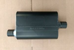Sale Flowmaster 40 Series Universal 2 25 Muffler Offset In Center Out Black