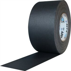 Pro Tapes Pro Gaff Black Gaffers Tape 3inch X 55yards