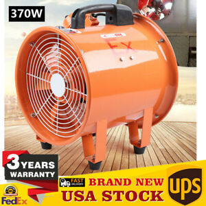 Fan Exhaust 12 Atex Explosion Proof Rated Ventilator Axial Fan Extractor 370w