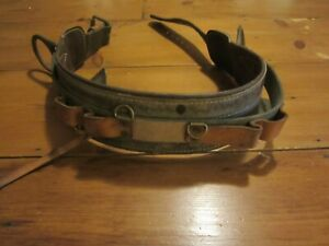 Buckingham Vintage Lineman Climbing Belt Strap E26 Right 4 86 1975