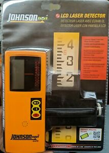 Johnson Level Tool Pro 40 6700 One sided Laser Detector W Clamp New