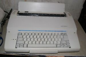 Sears Roebuck Co Electronic I Portable Typewriter Handle Cord Works Pre owned