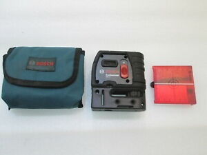 Bosch Gpl5r 100ft 5 Point Self leveling Alignment Laser
