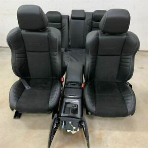 2020 Dodge Charger Full Front Back Seat Row Set W Full Floor Console 2177162