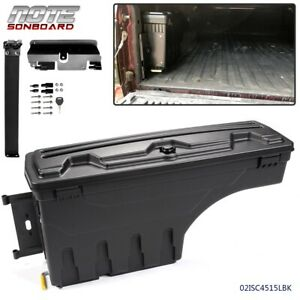 For Chevy Silverado Gmc Sierra Pickup Driver Side Truck Bed Storage Box Toolbox
