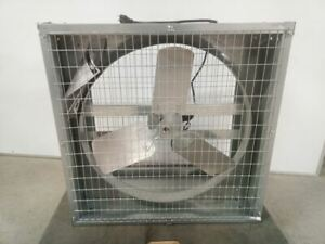 Dayton 44yu13 1 2 Hp 1100 Motor Rpm 115 230v 24 In Agricultural Exhaust Fan