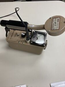 Ludlum Model 3 Survey Meter With 44 9 Pancake Probe Includes Cal Cert