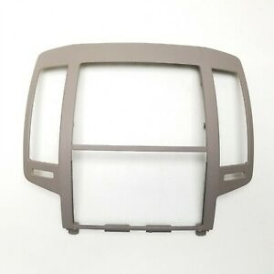 05 06 2005 2006 Nissan Altima Dash Radio Bezel Trim Without Vents Or Cubby Tan