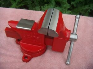 Sears Vintage made In Usa Bench Vise Swivel 3 1 2