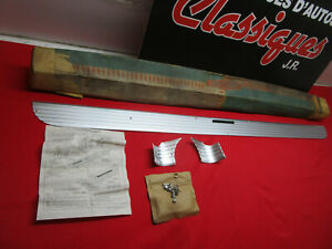 1957 Chevy Belair 150 210 Trunk Lid Molding Nos Accessorie