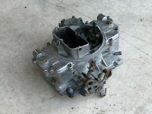 Holley Carburetor 84020 1 Vacuum Secondary 600cfm Used No Choke 4 Barrel Carb
