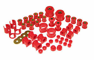 Prothane Total Suspension Bushing Inserts For Nissan 240sx 89 94 S13 Red Kit