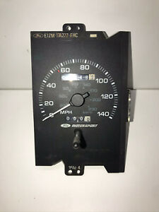 Ford Motorsport 140mph Speedometer Ford Mustang 5 0 87 88 89 1987 1989 Fms