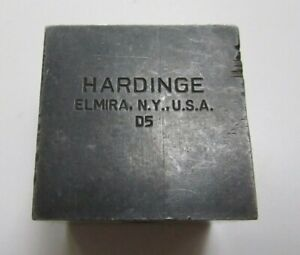 Hardinge D5 Style 3 8 Tool Holder Cross Slide Lathe Cutting Missing Wedge