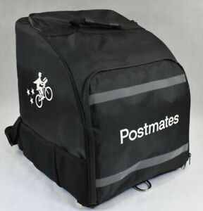 Postmates Deluxe Insulated Backpack Food Courier Carrier Ubereats Doordash