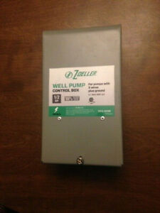 Zoeller 1010 2336 Well Pump Control Box For Pumps With 3 Wires Ground 1 2 Hp
