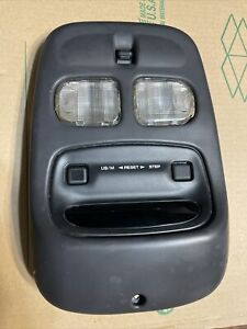 1998 98 Jeep Grand Cherokee Zj Overhead Console Dome Light agate 5 9 Limited