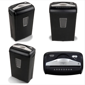 Paper Credit Card Shredder 8 sheet Micro cut Continuous 5 Minutes Shredder New