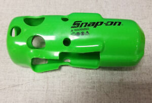 New Green Ct761 Impact Gun Snap On Protective Boot Cover For Cordless Tool