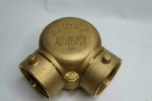 Autospkr 300 Brass Exposed Single Clapper 4quot; NPT x 2 1 2quot; NST $112.12