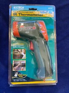 42515 Extech Infrared Thermometer With Type K Input New