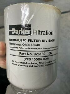 Parker Hydraulic Filter 926169 10c Filter Brand New In Box With Plastic